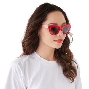 🆕 Red Cat Eye Sunglasses 🕶
